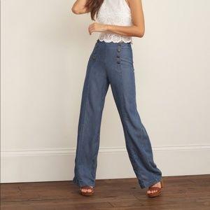 Size 10 Abercrombie & Fitch Sailor Style Pants